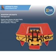 Eastern Aero Marine Life Raft (T4AS) ,VIP Series, FAA Type 1, 4-Man